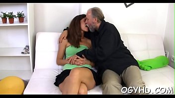 Seduce, Vs, Old guy, Old fuck young, Russian young, Old cum