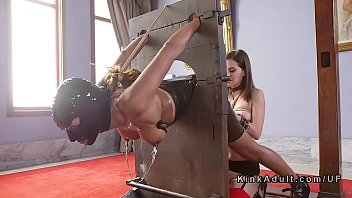 Slave, Latex, Kink, Latex bondage, Painful anal, Submission